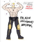 Paladin Stronghoof/Armstrong by glue123