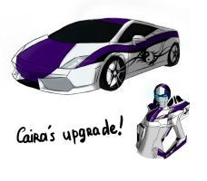 Caira's upgrade sketches by PacankaSima