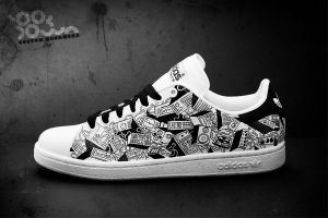 Custom Sneakers 'Toontech' by JohanNordstrom