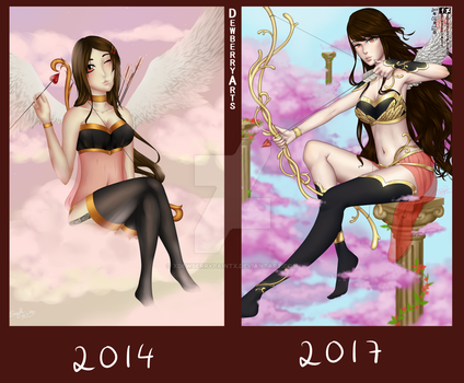 Redraw 2014-2017 by xDewberryPaintx