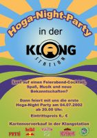 Hoga-Night-Party Flyer front by twinware