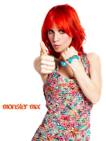 Hayley Williams PNG 2 by TwilightCullenette