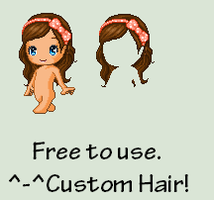 FANTAGE | Free Custom Hair by Pikatoot
