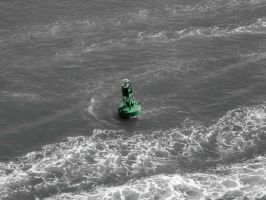 Green Buoy by macfran
