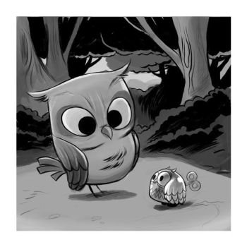 Owltober 5th 2009 by sayunclecomics
