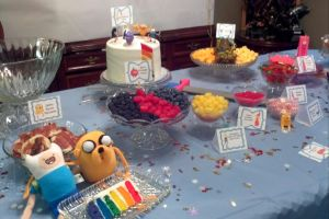 Our Party Table: Fionna and Cake House Party by Asenva