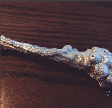 Frostbite Witch's Wand by AAOlsonDesign