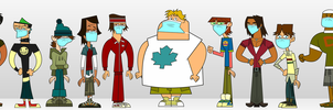 Surgical Masked Total Drama #2 - Boys by Juliefan21