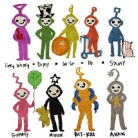 The Nine Teletubbies by TheTwiggyDance