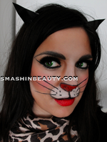 Sexy Kitten Halloween Makeup Tutorial 2012 by smashinbeauty