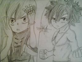 Gray & Erza by TheDrailusX