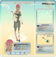 1001-Magical-Nights APP: Shaiya [Mirae] Atiyeh by SoulEvans
