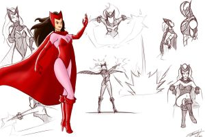 Scarlet Witch by MonsterSix