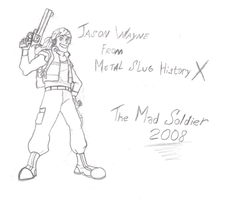 Jason Wayne by TheMadSoldier