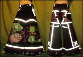 Last Pair of Invader Zim Pants Ever by RedheadThePirate