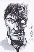 Two-Face sketch card 2 by LangleyEffect