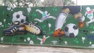 Soccer art ASG 2 by Papel-Artes