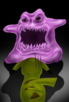 Dittos Scary Face by DrakeStirLawl