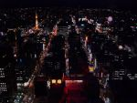 Sapporo at Night by ApneicMonkey