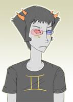 Sollux Bust by DragoonWarrior