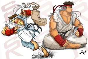 alpha and Sf2 ryu. by SRYMoND