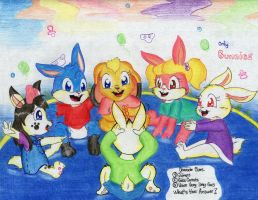To bunnies Only by davidcool1989