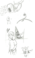 Portal doodles by spud133