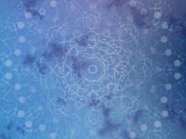 Blue Lace Wallpaper by dragonchilde