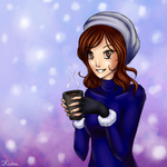 Hot chocolate with rum by Kiruel