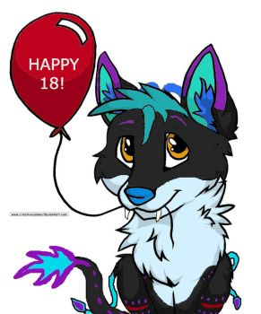 Happy 18 Nori! by MidnightSprint