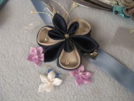 Corsages: Midnight Cloud Iris by Inuyatta