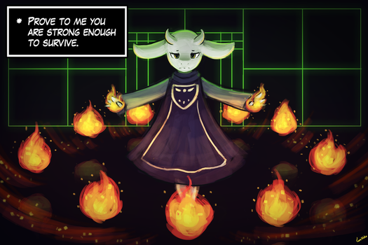 (Undertale) Toriel - Prove Yourself by luminaura