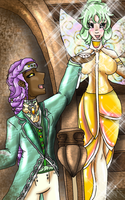 AA The Prince and the Fairy by GiaZeries