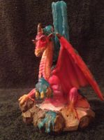 Dragon Candle Holder by Taz123321