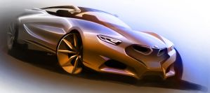 Bmw Concept Sketch by LoccoRico