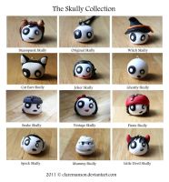 The Skully Collection by claremanson