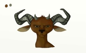 Horned by aesphyxia
