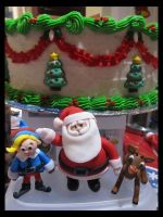 Rudolph Fondant Figures by Leara