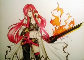 Elsword: Blazing Heart by LovedAngelxX
