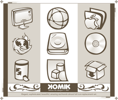 KOMIK Iconset ICNS by wilsoninc
