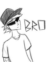 Homestuck: Bro Strider by MAXIMUMRAY