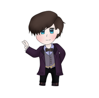 Chibi 11th Doctor by soundwave023