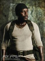 TWD: Tyreese Williams: Oil Paint Edit by nerdboy69