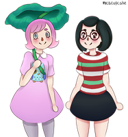 Holly And Suzy by MrKrazyKupcakes