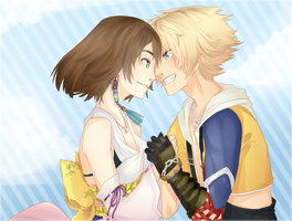 FFX:Someday I'll show you Zanarkand by nekodoru