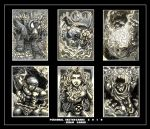 Personal Sketch Cards by The-Hand