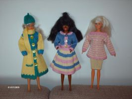 Clothes for Barbie dolls 2 by ToveAnita