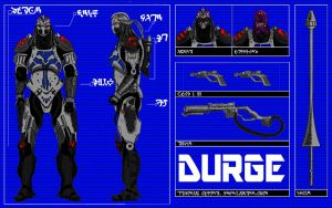 Durge blueprint Color by future-trunks