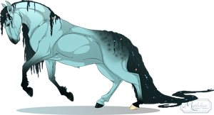 Coria Kelpie -Commission- by Mythka
