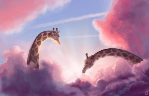 In the clouds by IntoTheBear